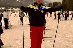 Séance ski de fond